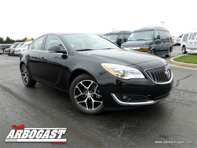 new 2017 buick regal sport touring 4d sedan in troy b5792 dave arbogast. Black Bedroom Furniture Sets. Home Design Ideas